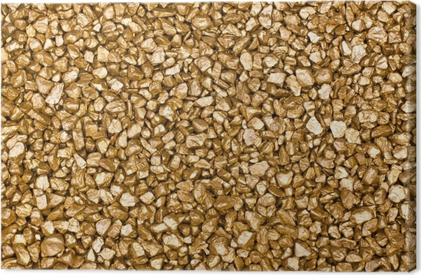 Obraz na plátně Zlaté nugety - Finance