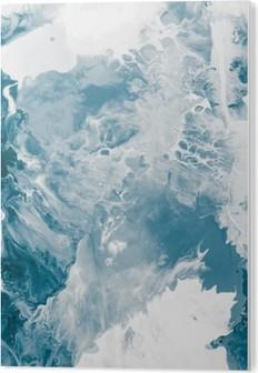 Obraz na Plexiskle Modrá textura mramoru