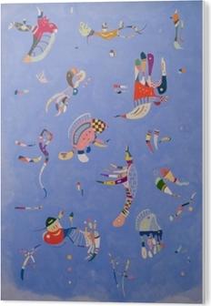 Obraz na Plexiskle Vasilij Kandinskij - Modrá obloha