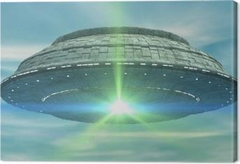 Obraz na płótnie 3d ufo
