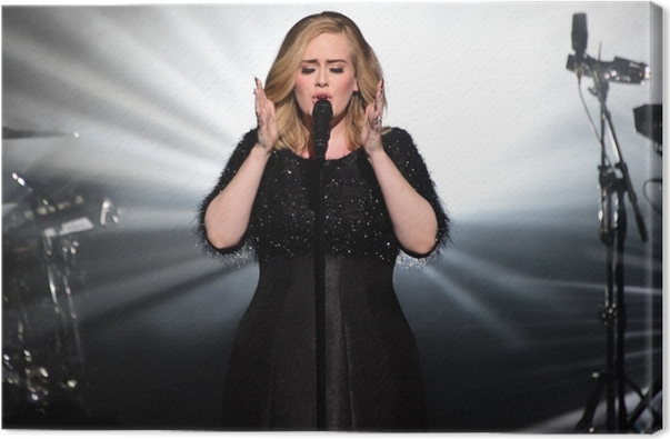 Obraz na płótnie Adele - Adele