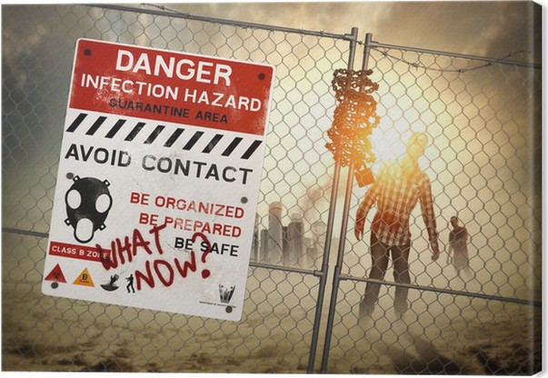 Obraz na płótnie Aftermath Zombie - Tematy