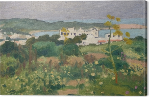 Obraz na płótnie Albert Marquet - Plac przy Pałacu Arcybiskupim w Sidi-Bou-Saïd - Reproductions