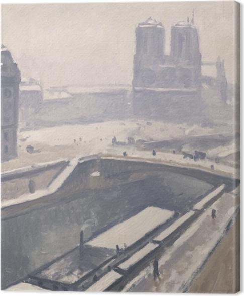 Obraz na płótnie Albert Marquet - Widok na Notre-Dame - Reproductions