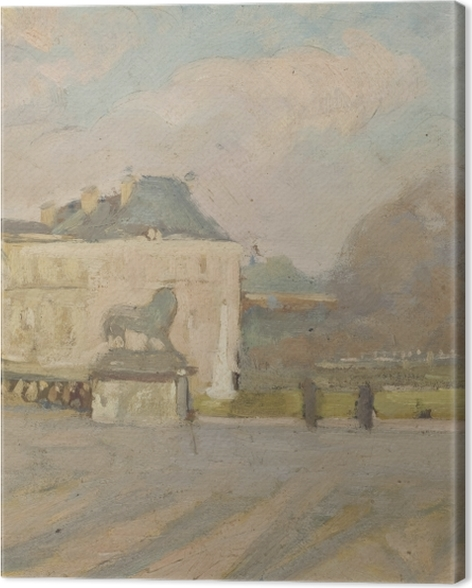 Obraz na płótnie Albert Marquet - Widok na Pałac Luksemburski - Reproductions