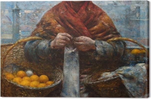 Obraz na płótnie Aleksander Gierymski - Pomarańczarka - Reproductions