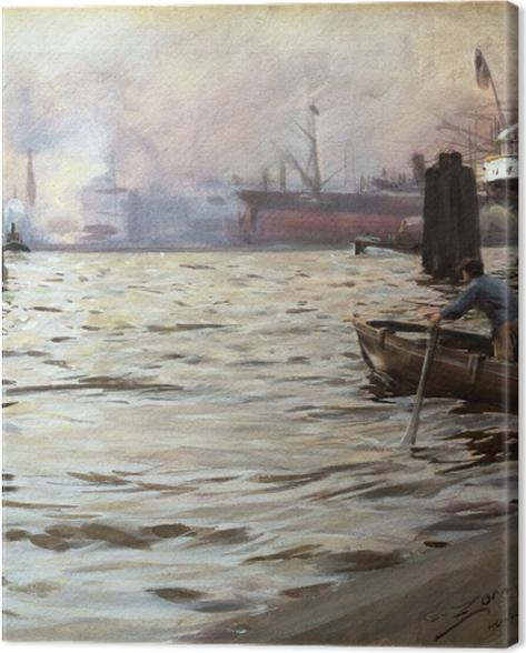 Obraz na płótnie Anders Zorn - Hamburg - Reproductions