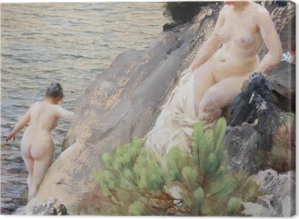 Obraz na płótnie Anders Zorn - Lato - Reproductions