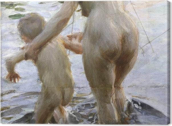 Obraz na płótnie Anders Zorn - Pierwszy raz - Reproductions