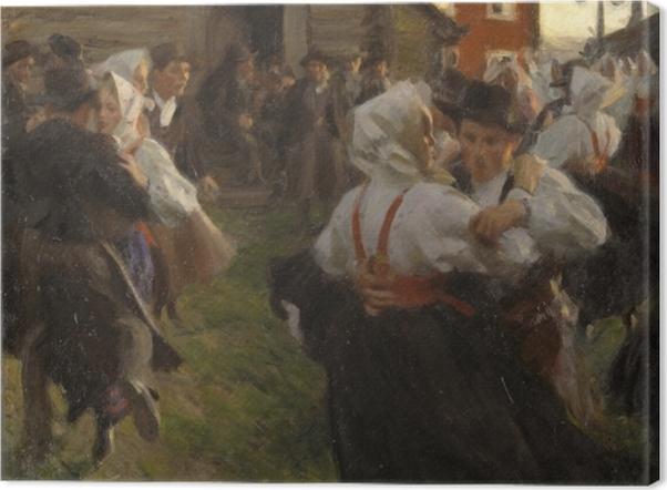 Obraz na płótnie Anders Zorn - Taniec w noc świętojańską - Reproductions