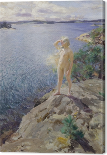 Obraz na płótnie Anders Zorn - Wśród szkierów - Reproductions