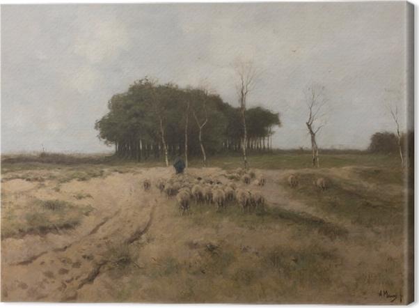 Obraz na płótnie Anton Mauve - Upał w okolicy Laren - Reproductions