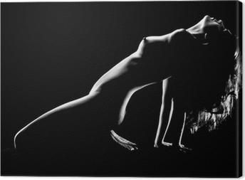 Obraz na płótnie Artystyczne nagie kobiety w studio