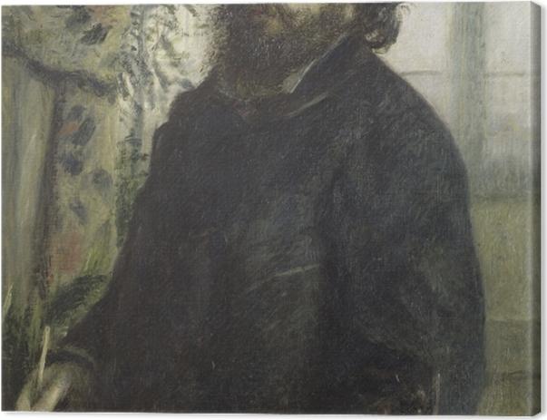 Obraz na płótnie Auguste Renoir - Portret Moneta - Reproductions