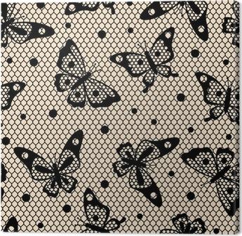 83205c31a9b6c8 Obraz na płótnie Moda damska Bielizna z rocznika koronki ornament. • Pixers®  - Żyjemy by zmieniać