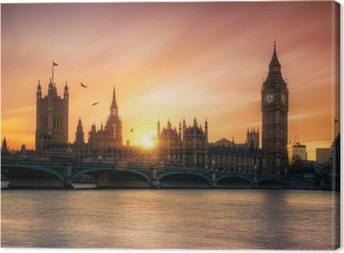 Obraz na płótnie Big Ben Londyn Anglia