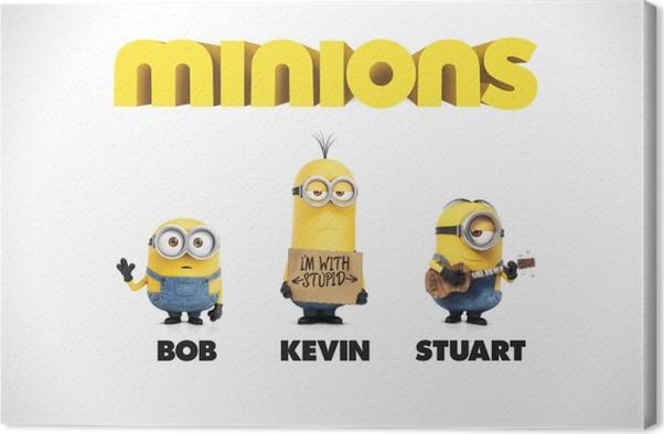 Obraz na płótnie Bob, Kevin & Stuart - Criteo