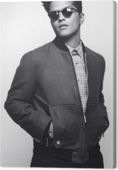 Obraz na płótnie Bruno Mars