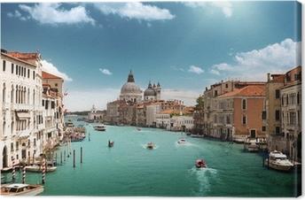 Obraz na płótnie Canal Grande i Bazylika Santa Maria zdrowia, Wenecja, Włochy
