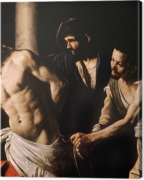 Obraz na płótnie Caravaggio - Biczowanie Chrystusa - Reproductions