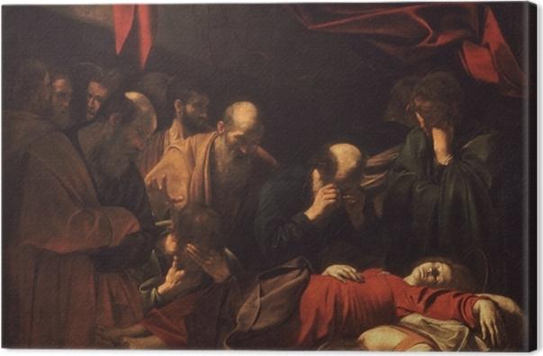 Obraz na płótnie Caravaggio - Śmierć Marii - Reproductions
