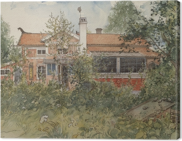 Obraz na płótnie Carl Larsson - Dom w słońcu - Reproductions