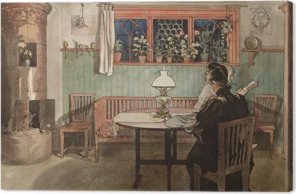 Obraz na płótnie Carl Larsson - Gdy dzieci śpią - Reproductions