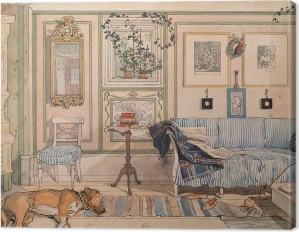 Obraz na płótnie Carl Larsson - Przytulny kącik - Reproductions