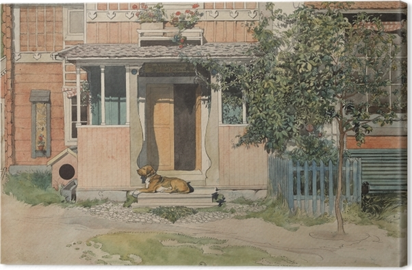 Obraz na płótnie Carl Larsson - Weranda - Reproductions