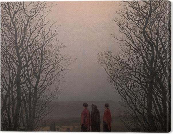 Obraz na płótnie Caspar David Friedrich - Poranek Wielkanocny - Reproductions