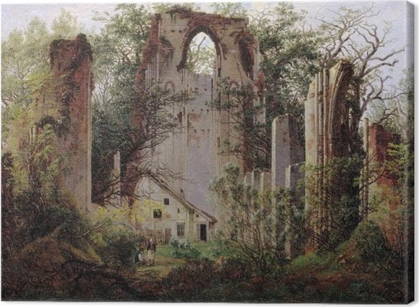Obraz na płótnie Caspar David Friedrich - Ruiny klasztoru Eldena - Reproductions