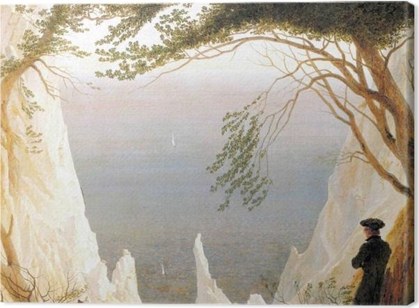 Obraz na płótnie Caspar David Friedrich - Skały kredowe na Rugii - Reproductions