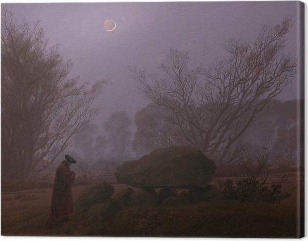 Obraz na płótnie Caspar David Friedrich - Spacer o zmierzchu - Reproductions
