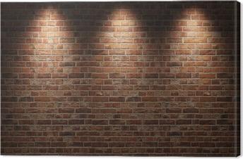 Obraz na płótnie Ceglana ściana
