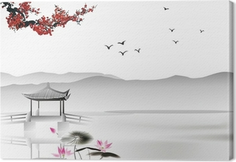 Obraz na płótnie Chińskich malowanie