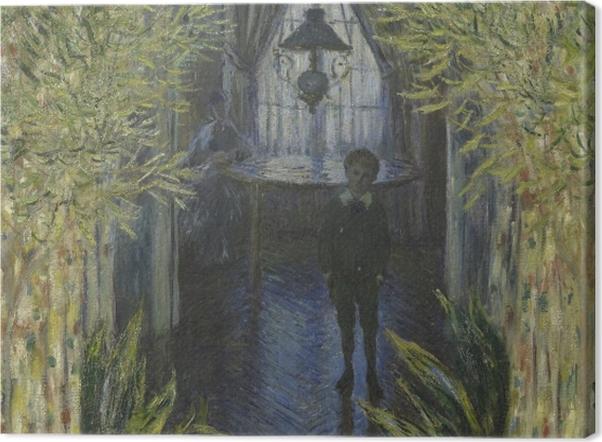 Obraz na płótnie Claude Monet - Fragment mieszkania w Argenteuil - Reprodukcje