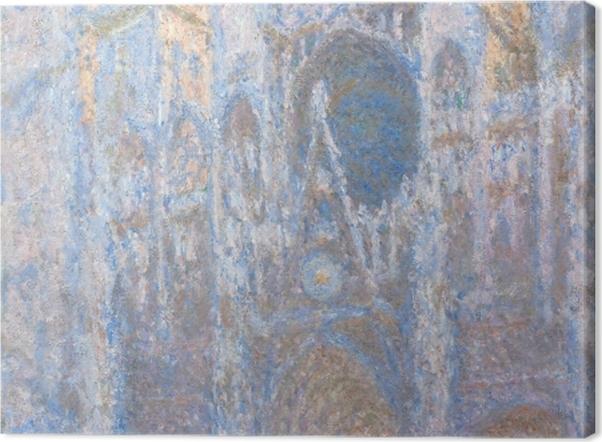 Obraz na płótnie Claude Monet - Katedra w Rouen - Reprodukcje