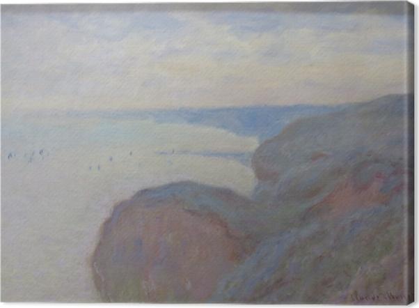 Obraz na płótnie Claude Monet - Klif nieopodal Dieppe - Reprodukcje