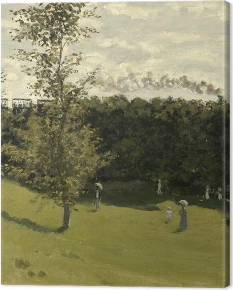 Obraz na płótnie Claude Monet - Kolejka podmiejska - Reprodukcje