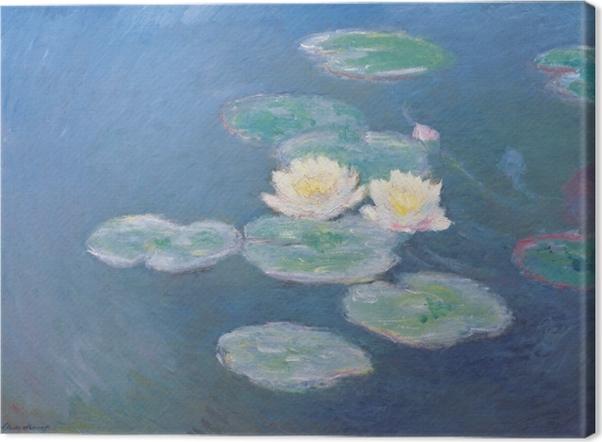 Obraz na płótnie Claude Monet - Lilie wodne - Reprodukcje