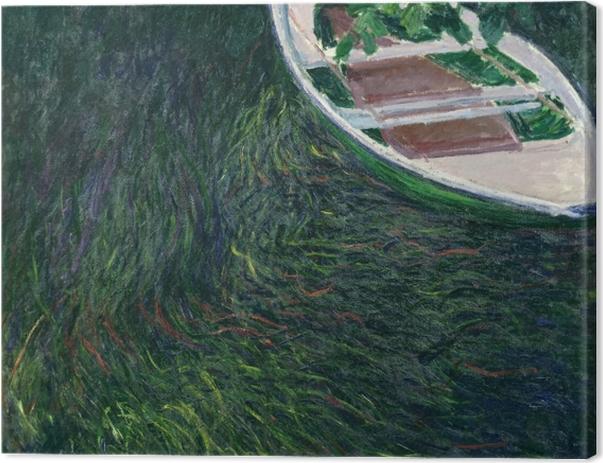 Obraz na płótnie Claude Monet - Łódka - Reprodukcje