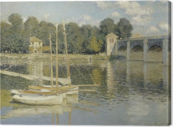 Obraz na płótnie Claude Monet - Most w Argenteuil - Reprodukcje