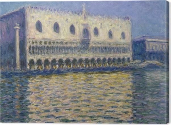 Obraz na płótnie Claude Monet - Pałac Dożów - Reprodukcje