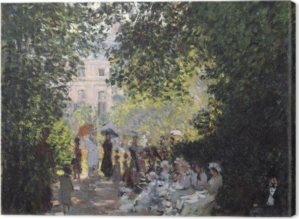 Obraz na płótnie Claude Monet - Park Monceau - Reprodukcje