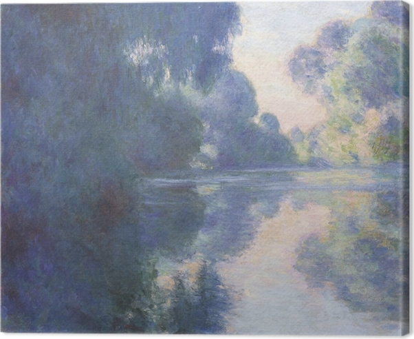 Obraz na płótnie Claude Monet - Poranek nad Sekwaną - Reprodukcje