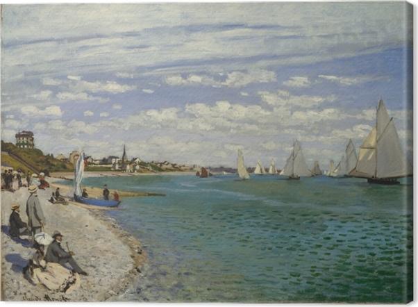 Obraz na płótnie Claude Monet - Regaty w Sainte-Adresse - Reprodukcje