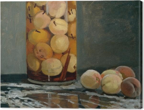 Obraz na płótnie Claude Monet - Słój z brzoskwiniami - Reprodukcje