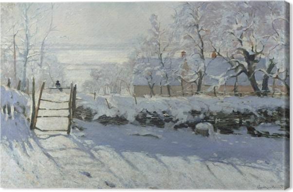Obraz na płótnie Claude Monet - Sroka - Reprodukcje