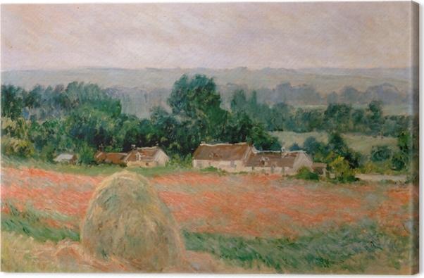 Obraz na płótnie Claude Monet - Stóg siana w Giverny - Reprodukcje