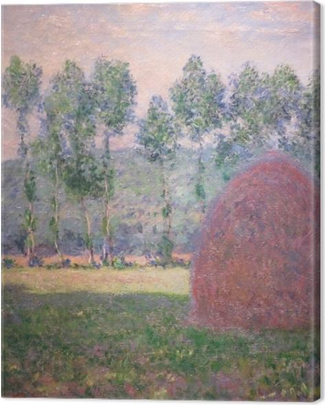 Obraz na płótnie Claude Monet - Stogi siana w Giverny - Reprodukcje